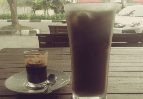 Espresso and Ice Sanger Arabica