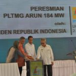 President Inaugurates Arun Gas Engine Power Plant in Aceh