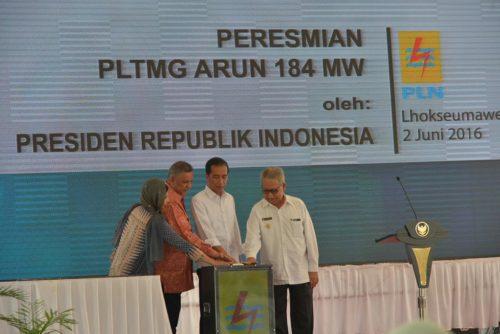 Presiden-Jokowi-Resmikan-PLTMG-Arun